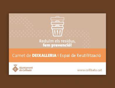Suport en la implantació i posada en marxa de l'Espai de Reutilització associat a la Deixalleria (Collbató)