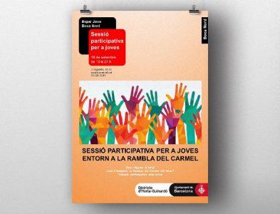 Dinamització del procés de participació ciutadana sobre la transformació de la Rambla del Carmel (Barcelona)