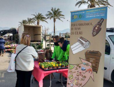 Campanya d'implantació de la recollida de la FORM amb contenidors tancats amb clau (Castelló d'Empúries)