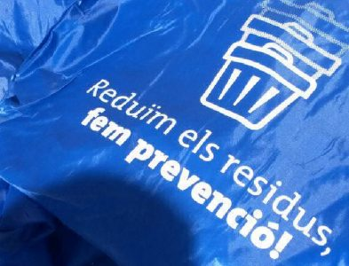 Actuacions de prevenció de residus i malbaratament alimentari al Mercat setmanal (Collbató)