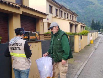 Campanya d'implantació del servei de recollida de residus PaP al municipi d'Osor (Consell Comarcal la Selva)