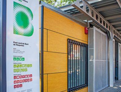 Estratègia de desenvolupament dels Punts Verds de barri (Barcelona)